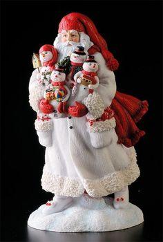 Snowman Santa