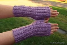 Tuli, Fingerless Gloves, Arm Warmers, Mittens, Knit Crochet, Knitting Ideas, Fashion, Fingerless Mitts, Fingerless Mitts