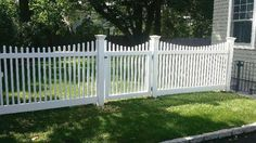 Scalloped Nantucket Cedar Picket Fence and Walk Gate