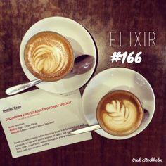 Elixir. Brisbane. 365 coffees. 365 cafes. 365 days.