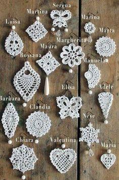 Crochet Jewelry Patterns, Crochet Earrings Pattern, Crochet Motif Patterns, Crochet Accessories, Crochet Designs, Knitted Jewelry, Lace Jewelry, Crochet Diagram, Crochet Jewellery