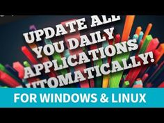 How to update you pc automatically Linux, Technology, Tech, Tecnologia, Linux Kernel, Engineering