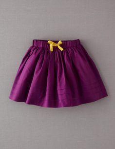 Pleat Hem Skirt- Perfect for LSU or Mardi Gras paired with cute little stockings, booties & a cute top!