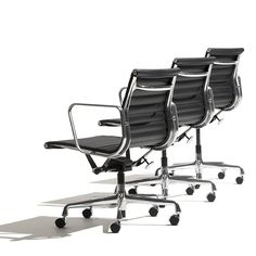 Eames Aluminum Group Management Chairs by @hermanmiller | Eames Office
