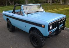 '74 International Harvester Scout II ... w 345 V8 and 3-speed.