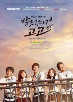 "[K-Drama Sassy Go Go] ""Cheer Up!"" berlatar belakang tim cheerleader di sebuah SMA. Drama seri ini menggambarkan tentang persahabatan dan kisah cinta para pemuda, ketika berhadapan dengan lingkungan pendidikan yang keras yang mengedepankan persaingan.  Detail K-Drama Sassy Go Go : Judul : Sassy Go Go  Judul lain : Cheer Up! Judul lokal : Balchikhage Gogo Sutradara : Lee Eun-Jin Penulis naskah : Yoon Soo-Jung Network : KBS2 Episode : - Tanggal tayang : mulai 5 Oktober 2015  pk 21:55"