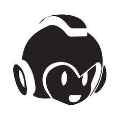 40Pcs Mega Man Sticker , Vinyl Decal, Die Cut, Jdm Car, apple, mac, Ride, Skate 115mm*115mm wall stickers muraux for kids rooms