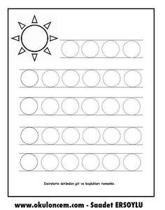 Summer Crafts For Preschoolers Easy - Summer Handwriting Worksheets For Kids, English Worksheets For Kids, Kindergarten Math Worksheets, Alphabet Worksheets, Handwriting Practice, Preschool Writing, Preschool Activities, Tracing Shapes, Pre Writing