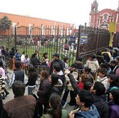 Miles de personas visitan hoy a Santa Rosa de Lima