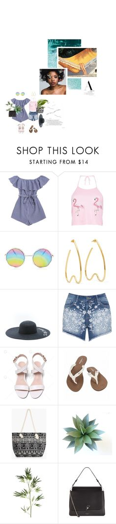 """""""to wait for you is all i can do, it's a chance i've gotta take"""" by piratevampiresuperjoyce ❤ liked on Polyvore featuring Boohoo, Simone Rocha, Mat, Volcom, Pier 1 Imports, Fiorelli, tropical, polyvorepoc and pocpolyvore"""
