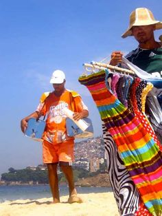 Love the colors!!! {Ipanema, Rio de Janeiro.}