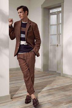Male Fashion Trends: Brunello Cucinelli Spring-Summer 2018 Collection