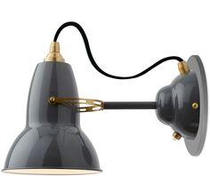sconce | anglepoise | brass | $200 | grey