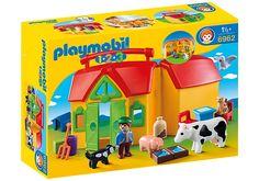 Ferme transportable avec animaux - 6962 - PLAYMOBIL® België