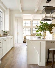 Beautiful White Kitchen With Tons Of Natural Light