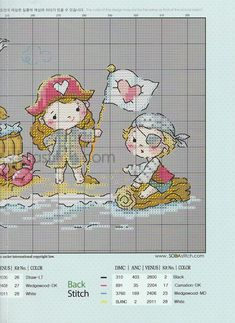 Фотография Cross Stitch Cards, Cross Stitching, Cross Stitch Embroidery, Embroidery Patterns, Cross Stitch Patterns, Cross Stitch Collection, Craft Stick Crafts, Needle And Thread, Little People
