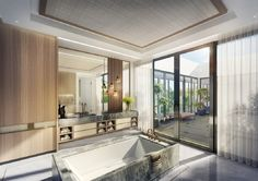 Bathroom in Miami, FL by Argent Design