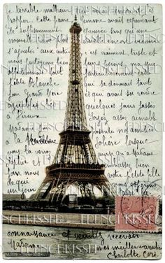 Postcards from Paris. Sent all my family and Matt postcards when I was overseas and all were from Paris =)