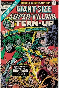 Giant-Size Super-Villain Team-Up #2 | $70