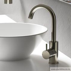 Buddy Highrise Basin Mixer - Buddy Bathroom Tapware - Buddy - New Arrivals Bathroom Tapware, New Zealand Houses, Basin Mixer Taps, Bathroom Trends, Decoration, Interior Styling, Sink, Chrome, Hardware
