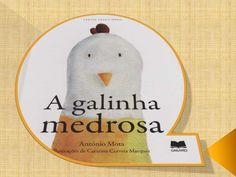 Title Slide of A galinha medrosa de antonio mota