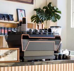 BaristaSpot - 🌟☕❤️ Aimed at improving efficiency and ergonomics, we have The . Green Cafe, Turntable, Coffee, Furniture, Dragons, Kaffee, Record Player, Cup Of Coffee, Home Furnishings