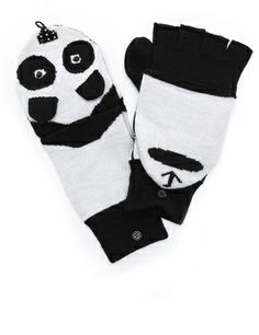 Alice + olivia Panda Mittens on shopstyle.com