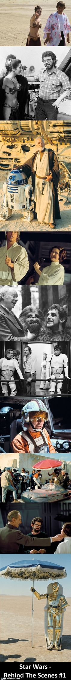 Star Wars Behind The Scenes #1