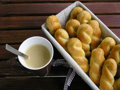Greek Desserts, Sugar Free Desserts, Cookie Bars, Pretzel Bites, Cooking Time, Tart, Healthy Recipes, Healthy Food, Sweets