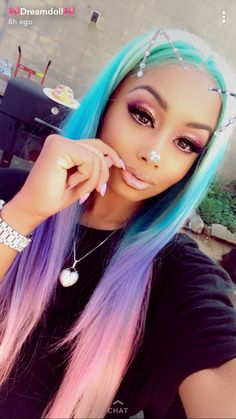 194 Best Dreamdoll Images In 2019 Colorful Hair Dyed