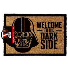 Welcome to the Dark Side Door Mat