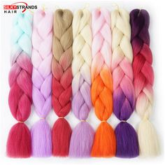 Discount This Month Silky Strands Ombre Synthetic Braiding Hair Extensions For Crochet Braids Kanekalon Jumbo Braids Two Tone Ombre Color Kanekalon Jumbo Braid, Jumbo Braids, Ombre Color, Hair Color, Crochets Braids, Braid In Hair Extensions, Merino Wool Blanket, Braided Hairstyles, Crochet Necklace