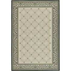Courtyard Fulham Indoor/Outdoor Rug, Multiple Sizes