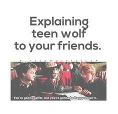 Teen Wolf Meets Harry Potter