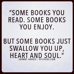 So true ... books have the power to make us cry in the character's grief and smile in their happiness.