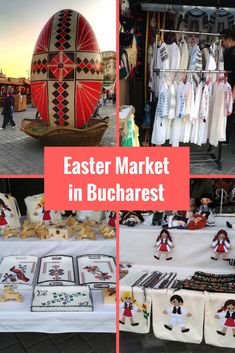 Easter Market In Bucharest Romania
