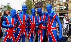 Royal Wedding fans dress for the occasion. Royal Wedding Pictures: The Ones You Haven't Seen A Million Times (PHOTOS)