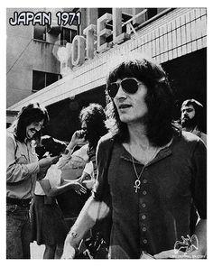 Led Zeppelin Japan 71