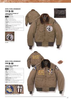BUZZ RICKSON'S B10 Navy Jacket, Bomber Jacket, Blue Chinos, Military Operations, Nose Art, White Pants, Us Army, Canada Goose Jackets, Blue Denim