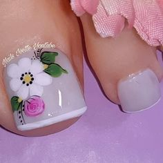 Pretty Toe Nails, Pretty Toes, Hair And Makeup Tips, Toe Nail Designs, Toe Nail Art, Manicure And Pedicure, Pedicures, Swag Nails, Pink Nails