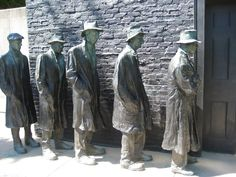 Depression Bread Line - George Segal - WikiArt.org - encyclopedia ...