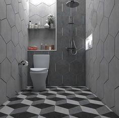 Small Toilet Room, Small Bathroom With Shower, Tiny House Bathroom, Simple Bathroom, Bathroom Tile Designs, Bathroom Design Small, Bathroom Layout, Modern Home Interior Design, Home Room Design