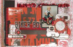 Biker Boy - Scrapbook.com