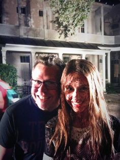 Taissa behind the scenes American Horror Story: Coven