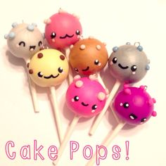 Cake Pop charms made for @KC Bakes