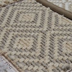 Can't get enough of this wool rug, woven to give a sisal look…