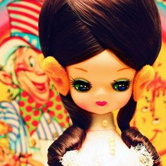Honey  Fine Art Bradley  Doll Print  8x8 by stoopidgerl on Etsy, $25.00