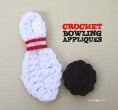 Bowling Appliques ~ Repeat Crafter Me