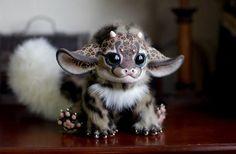 Cute Handmade Mythical Dolls by Santaniel