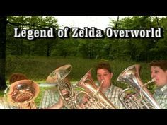 Legend of Zelda - Overworld Theme - Euphonium Quartet